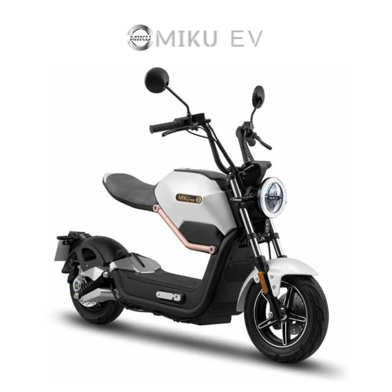 Miku Elektrische Scooters Martin Boer Assen