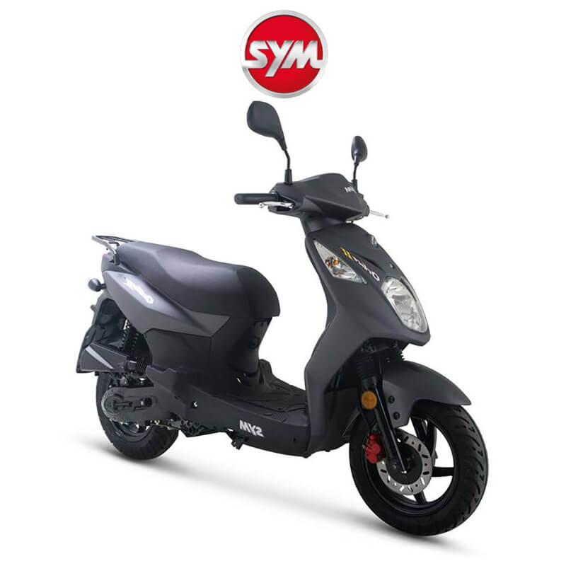 Sym Scooters Martin Boer Assen